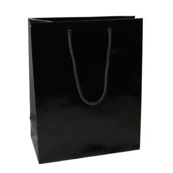 Uni Luxury Kordeltragetaschen schwarz