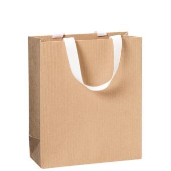 Kordeltragetaschen mit Ripsband One Colour