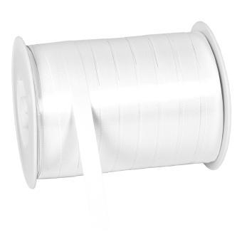 Polylight Geschenkband glanz 10mmx250m weiss 10 mm | weiss