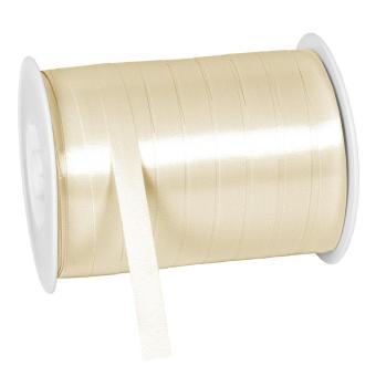 Polylight Geschenkband glanz 10mmx250m chamois 10 mm | chamois