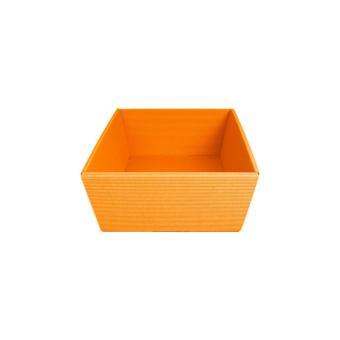 Geschenkkorb Brüssel, 335x195x100mm, 335x195x100mm | orange
