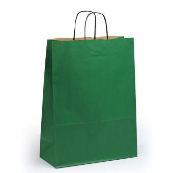 Toptwist Tragetaschen grün, 32 x 14 x 42cm, 32 x 14 x 42cm   grün