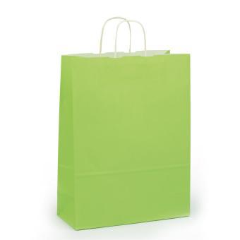 Toptwist Tragetaschen hellgrün, 32 x 14 x 42cm, 32 x 14 x 42cm | hellgrün