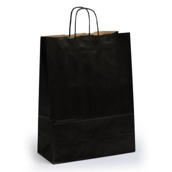 Toptwist Tragetaschen schwarz, 24 x 11 x 31cm, 24 x 11 x 31cm | schwarz