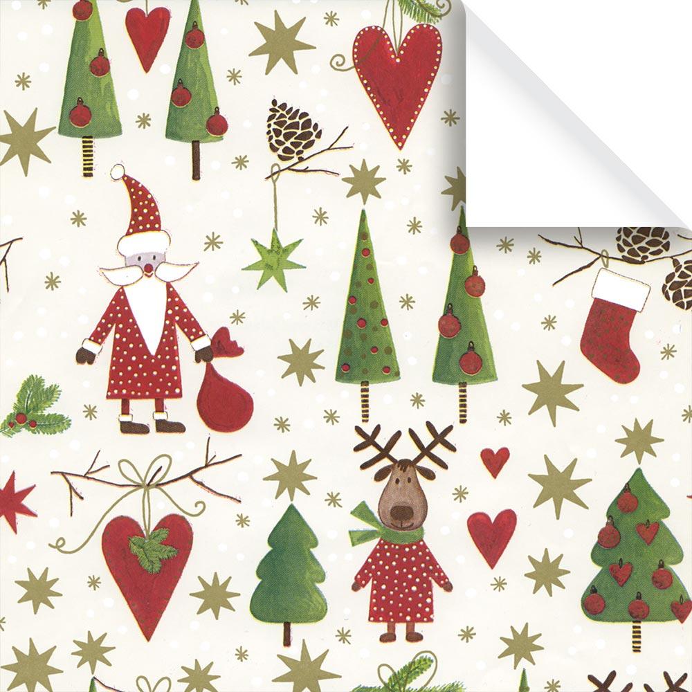 Strebel-Walz AG | Kinder Geschenkpapier Weihnachten Rollen, Zermatt ...
